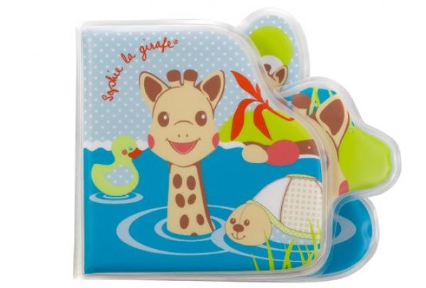 Σόφι καμηλοπάρδαλη Βιβλίο παιχνίδι μπάνιου