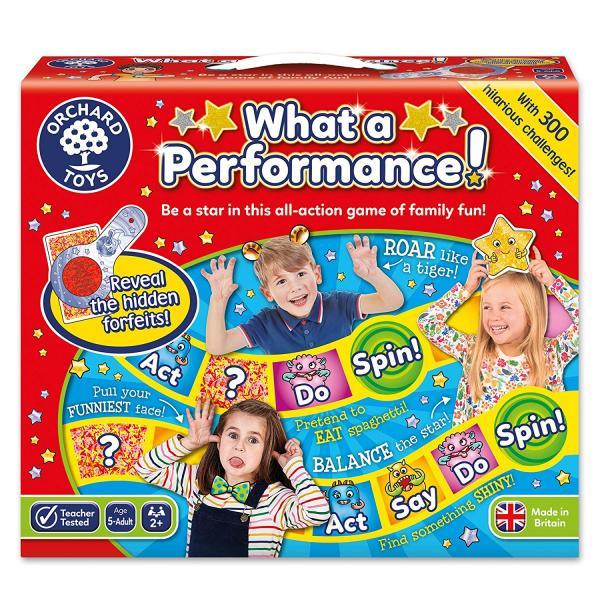 "Orchard Toys ""Τι παράσταση!""(What A Performance) Ηλικίες 5+ ετών"